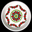 Portmeirion Spirit Of Christmas PIN DISH Berry Wreath