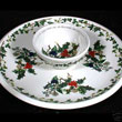 Portmeirion Holly And Ivy CHIP And DIP Set 13 Inch Wide