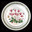 Portmeirion Botanic Garden B And B Plate CYCLAMEN